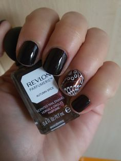 CHIKI88...  my passion for nails!: The nails of the week: deep brown!