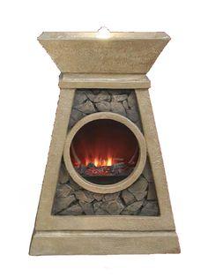 Fireplace Bubbler Fountain