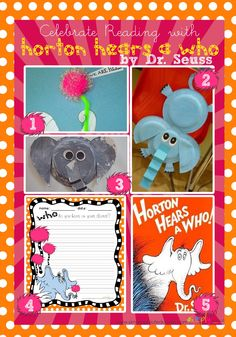 Celebrate Reading With Horton Hears a Who ~ Simply Sprout