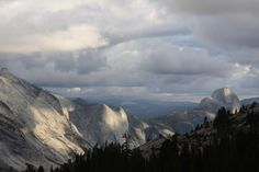 Crows Nest and Half Dome