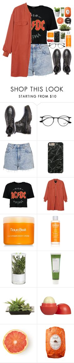 """""""ginger // #200"""" by jar-of-hearts-xx ❤ liked on Polyvore featuring Ray-Ban, Topshop, Boohoo, Monki, Natura Bissé, TheBalm, Crate and Barrel, Korres, Lux-Art Silks and Eos"""