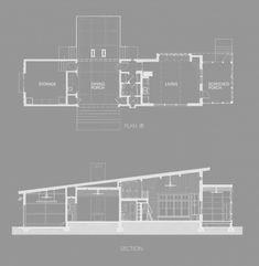 Dogtrot House By Waggonner Ball Architects House plans Barn