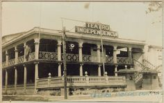 Teatro Independencia. Hoy Tele Micro. Frente al Parque Independencia