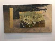 Zona Maco #CDMX Manuel Felguérez (1928) Sin título (31/16) Óleo/tela 90x130 cm 2016