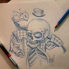 Skull #ozer #tatouage #tattoo #graffiti #loveletters #ironink #nantes #westcotedeporc #skull