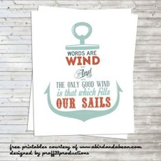 Games of Thrones Free Printables. www.bolditup.com  Words are wind