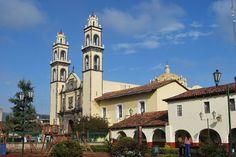 Parish of San Pedro in Zacatlan, Puebla, Mexico