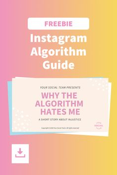 How the Instagram algorithm really works and keep it from being an obstacle for your Instagram success. Engagement Captions, Selling On Instagram, Picture Video, Success, Social Media, Social Networks, Social Media Tips