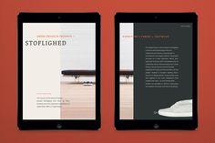 Absorb — Digital Magazine by Martine Hage, via Behance