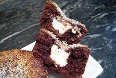 Fondant chocolat, noix de coco au cœur coulant de coco (sans lactose, sans farine)