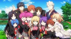 WB Japan Showcases 'Little Busters! EX' Blu-ray Anime Box Set