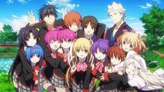 WB Japan Showcases 'Little Busters! EX' Blu-ray Anime Box Set
