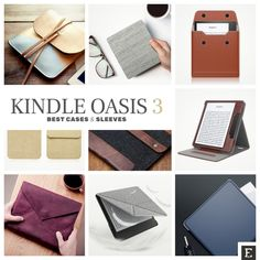 Here are 10 top-rated Kindle Oasis case covers and sleeves Best Kindle, Amazon Kindle, Kindle Oasis, Kindle Cover, Amazon Reviews, Photo Online, Soft Suede, Ethical Fashion, Your Photos