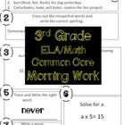 100 pages of morning work, math and ELA!