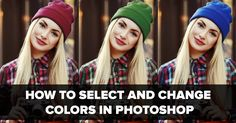 Photoshop tutorial showing you how to select and change colors in Photoshop. This video shows three different techniques to replace the color of an object.