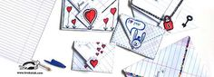 Envelope – origami: http://krokotak.com/2015/01/envelope-origami/