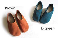 【2014秋冬】groundgreenstore/グラウンドグリーンストア142-411バブーシュ風レザーシューズ|ground|靴|