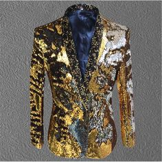 2017 new pattern costumes host male jacket tide fashion coat outfit slim blazer singer dancer show for nightclub party stage bar