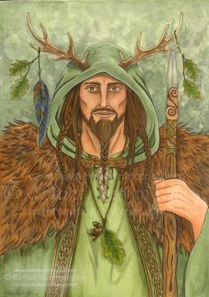 Herne  The Horned God, Lord of the Forest.