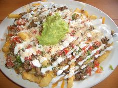 La Playa Taco Shop in Pacific Beach -- Carne Asada Fries..OMG I Miss this !!!