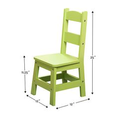 Melissa & Doug Table & 4 Chairs - Pastel 5-pc. Kids Table + Chairs-Painted Kids Table And Chairs, Kid Table, Melissa & Doug, Stool, Pastel, Painting, Furniture, Home Decor, Products