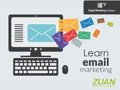 Learn #EmailMarketing today from #ZuanEducation! Know more about the course at  http://goo.gl/QeaNKO