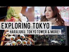 (17) Exploring Tokyo Day 1: Harajuku, Tokyo Tower & more! - YouTube
