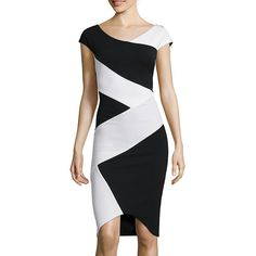 Fifth & Park Colorblock Bodycon Dress - JCPenney