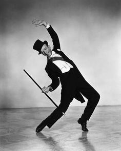 Anywhere else, Fred Astaire might have been a funny looking, stringy little fellow; but in the movies, he was suave, dressed to perfection, and floated across the floor with beautiful women in his arms.