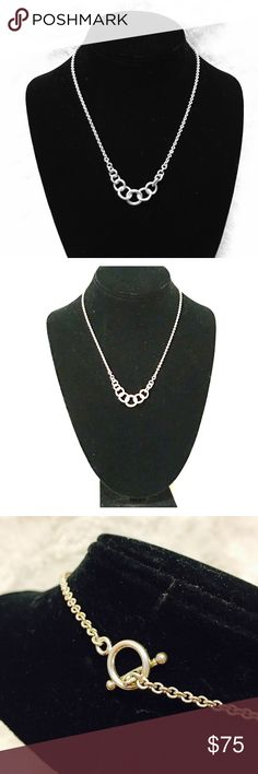 💕925 Sterling Silver Necklace Vintage and stamped 925 necklace. This beautiful necklace is approximately 16 grams. This beauty is a perfect gift to your loved ones. No issues. In great condition. 925 Sterling Silver Jewelry Necklaces