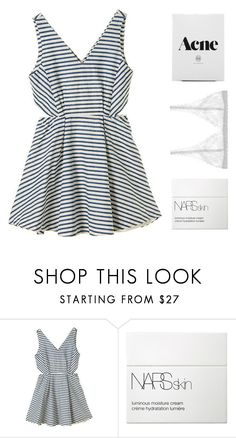 """""""i'm waiting for it, that green light, i want it"""" by nine-in-the-afternoon ❤ liked on Polyvore featuring NARS Cosmetics and Lonely"""