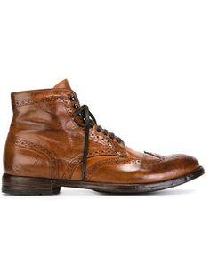 pretty nice 0673d 643a2 distressed brogue boots Herren Brogue Stiefel, Offizin Kreativ,  Schnürstiefeletten, Kampfstiefel, Tweed,