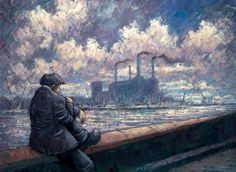 Send in the Clouds by Alexander Millar - Art For All, art prints . Norman Cornish, West Coast Scotland, Art Addiction, Canvas Prints, Art Prints, Limited Edition Prints, Contemporary Artists, Lovers Art, All Art