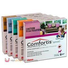 Enfin , Comfortis Chat est disponible en France. Le Comfortis (Spinosad) Chat est révolutionnaire. C'est actuellement, le seul comprimé anti-puce d'action prolongée. Il permet de lutter contre l'infestation contre les puces pendant un mois. Il agit uniformément...