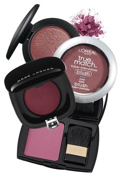 How to Apply Blush Based on Blush Color - Blush How-To - ELLE Plum blush