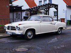 1959 Borgward Isabella coupe Maintenance/restoration of old/vintage vehicles: the material for new cogs/casters/gears/pads could be cast polyamide which I (Cast polyamide) can produce. My contact: tatjana.alic@windowslive.com