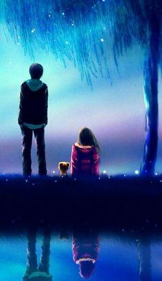 Imagen vía We Heart It #animegirl #kawaii #Otaku #animecouple #animeboy #animeworld #anime