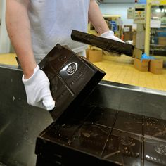 Barry Callebaut, a Swiss chocolate company, has created a new kind of dark chocolate it says will improve your heart's health.
