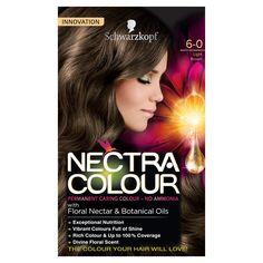 Schwarzkopf Nectra Colour 6.0 Light Brown 1 pack