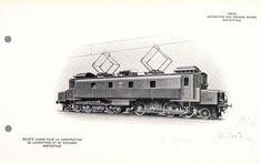 Fc 2x3/4 12201 war bis zum Mai 1920 die Bezeichnung einer von vier Probelokomotiven, die die SBB im Juni 1917 bestellten. Seither wurde sie als Ce 6/8I 14201 bezeichnet. Electric Locomotive, Military Vehicles, 1920, Magic, Travel, Pictures, Locomotive, Train, Swiss Guard