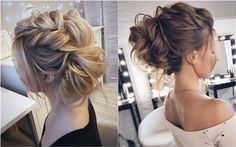 Tonya Pushkareva Long Wedding Hairstyles and Updos