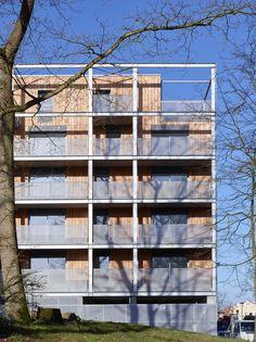 Galería de Unidades de vivienda Callot B1 / Jacques Boucheton Architectes - 4
