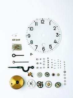 A wall clock.