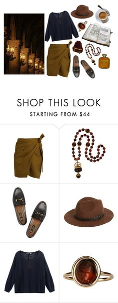"""""""Treasure hunters"""" by mozart-and-coffee ❤ liked on Polyvore featuring Étoile Isabel Marant, Kenneth Jay Lane, Gucci, Sole Society and vintage"""