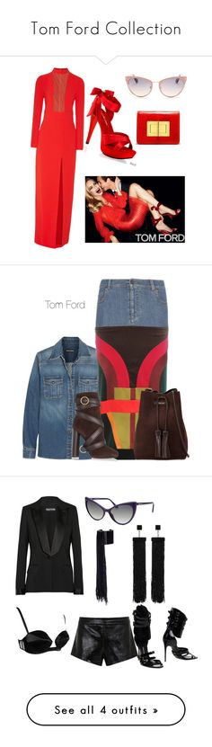 """""""Tom Ford Collection"""" by always-runway-ready ❤ liked on Polyvore featuring mode, Tom Ford, Pleaser, women's clothing, women, female, woman, misses, juniors et Mason by Michelle Mason"""