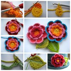 So beautiful crochet triple layer flower !Use these flowers decorate bags, cards, hats, a barrette or a pin ,make... The post The Perfect DIY Crochet Triple Layer Flower appeared first on The Perfect DIY.