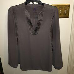 NYDJ Mushroom colored blouse NYDJ Mushroom colored blouse size medium great condition NYDJ Tops Blouses