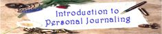 KSURF Online Course: Introduction to Personal Journaling