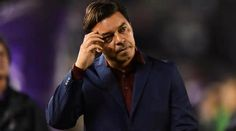 """Marcelo Gallardo has hit out at the decision to move River Plate's Copa Libertadores clash with Boca Juniors to Madrid, calling CONMEBOL's plans """"absurd"""". Tnt Sports, Steve Bruce, Manchester United Legends, Club World Cup, Barcelona Football, Plate, Athletic Clubs, World Cup Final, Camp Nou"""