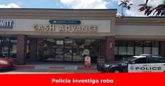 Policía está investigando un robo a Cash Advance de las calles 33 y L Más detalles >> www.quetalomaha.com/?p=5411
